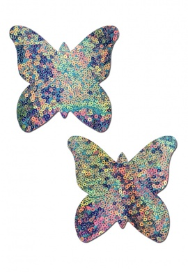 Monarch Cosmic Aqua Pasties
