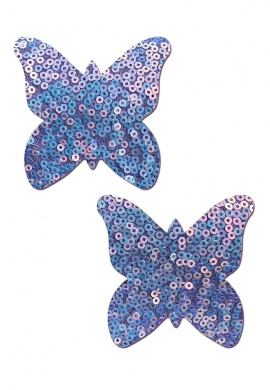 Cosmic Lavender Monarch Butterfly Pasties