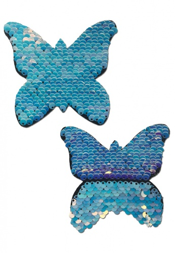 Sequin Unicorn Monarch Butterfly Pasties