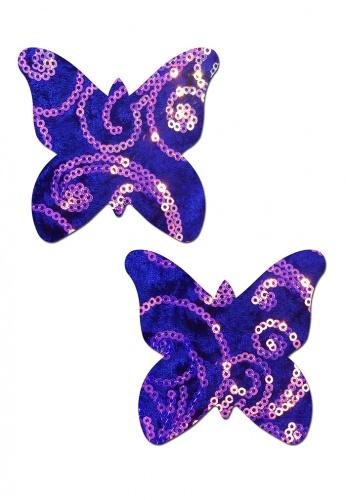 Sequin Velvet Royal Monarch Butterfly Pasties