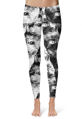 Moon Cat Leggings