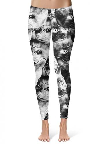 Moon Cat Leggings