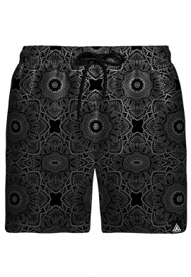 Subtle Dark Swim Shorts