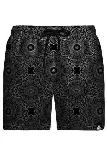 Subtle Dark Swim Shorts