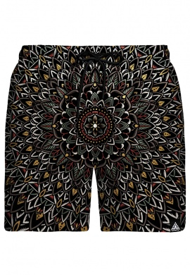 Flower Mandala Swim Shorts