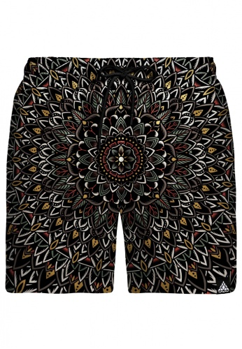 Flower Mandala Swim Shorts