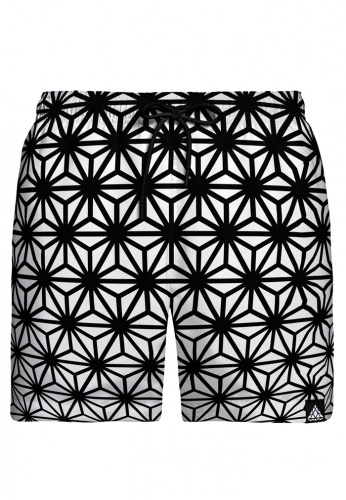 Asanoha Swim Shorts