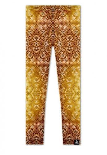 Golden Star Sayagata Leggings