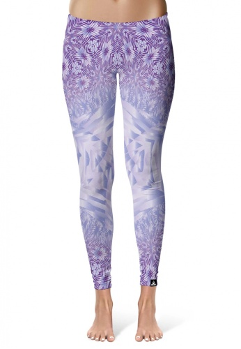 Lavender Starseed Portal Leggings