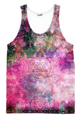 Pineal Metatron Galaxy Tank Top