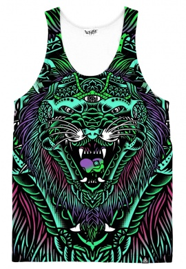 Acid Tiger Tank Top