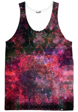 Pineal Metatron Galaxy Dark Tank Top
