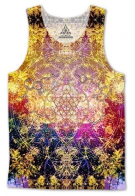 Pineal Metatron DMT Tank Top