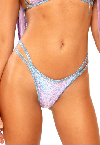 Lavender Double Strap Bottoms