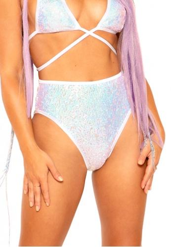 Cosmic Light-Up Sequin Shorts