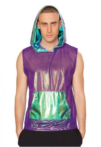 Purple Opal Hooded Top