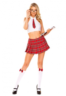 School Girl Nerd Costume