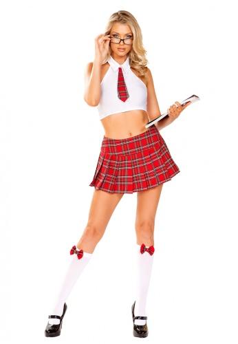 School Girl Nerd Costume