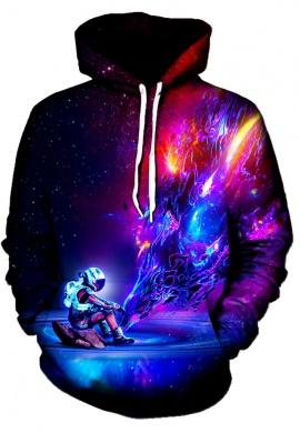 Astronaut Texture Hoodie
