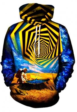 Astronaut Yellow Portal Hoodie