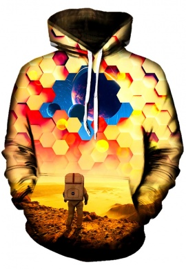Astronaut Barrier Hoodie