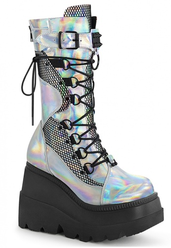 Holographic Shaker-70 Boots