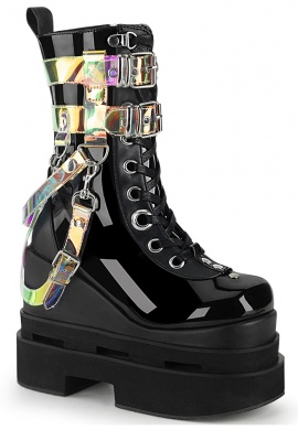 Demonia Eternal 115 Holographic Boots