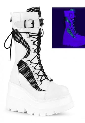 White Shaker-70 Boots