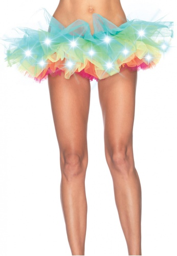 Light Up Rainbow Tutu