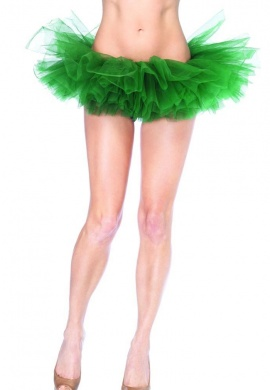 Kelly Green Organza Tutu