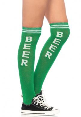 Beer Time Knee Highs