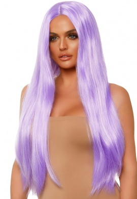 Lavender Long Straight Wig