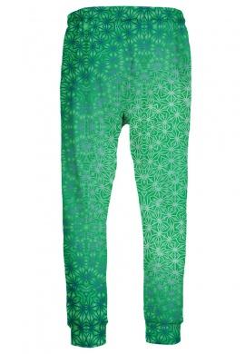 Green Cosmic Stargrid Joggers