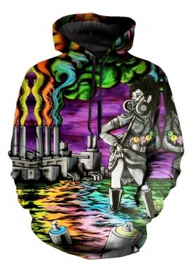 Art Flood Hoodie