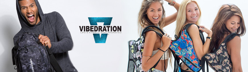 Vibedration Festival Hydration Packs
