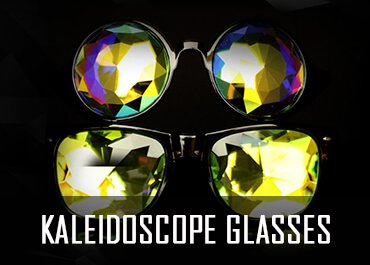 kaleidoscope glasses and goggles