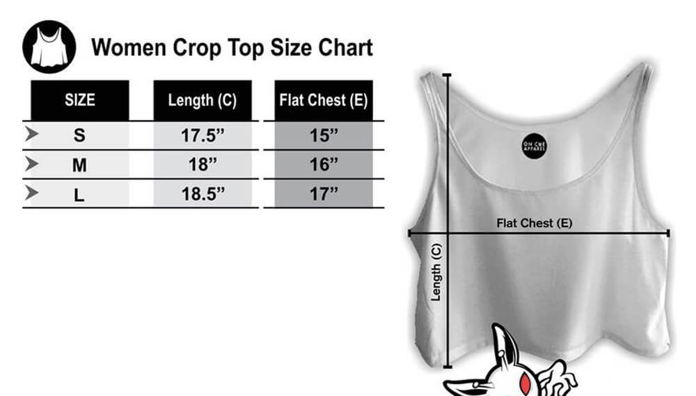 Crop Size Charts